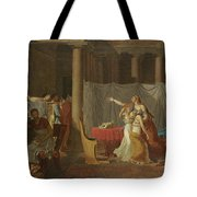 Lictors Bring Back To Brutus The Bodies Of His Sons Tote Bag