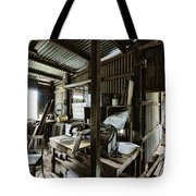 Life As A Shed  Tote Bag