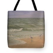 Life At The Sea Shore Tote Bag