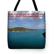 Life Changes Tote Bag