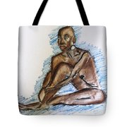 Life Drawing Study Tote Bag