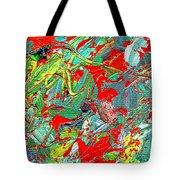Life Energy Five  Tote Bag