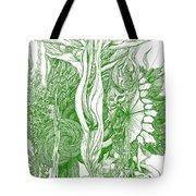 Life Force  - Green Tote Bag