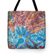 Life Ignition Mural V1 Tote Bag