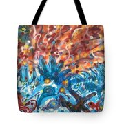 Life Ignition Mural V3 Tote Bag