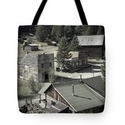 Life In A Ghost Town Tote Bag