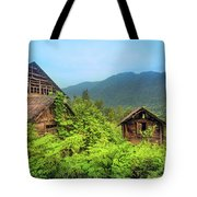 Life In A Mountains Tote Bag