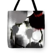 Life In Black And White Tote Bag by KR Moehr