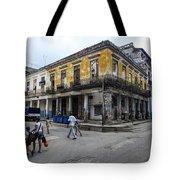 Life In Old Town Havana Tote Bag
