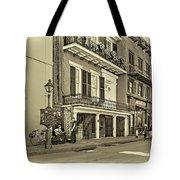 Life In The Quarter - Antique Sepia Tote Bag