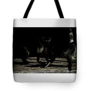 Life In The Shadows Tote Bag