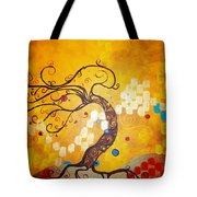 Life Is A Ball Tote Bag