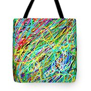 Life Is A Mess Tote Bag