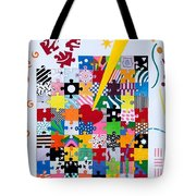 Life Is A Puzzle Tote Bag