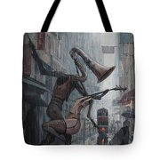 Life Is  Dance In The Rain Tote Bag