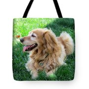 Life Is Good For Maddie Tote Bag
