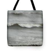 Life Is Like A Wave Tote Bag