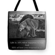 Life Is Loving Hugs Tote Bag