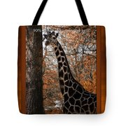 Life Is Standing Tall Tote Bag