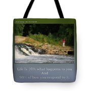 Life Is Taking Time For Yourself Tote Bag