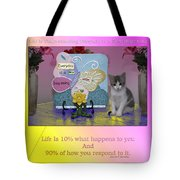 Life Is Understanding Everyday Is A New Beginning Tote Bag
