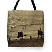 Life Near The Arabian Sea Tote Bag