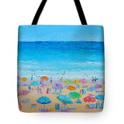 Life On The Beach Tote Bag