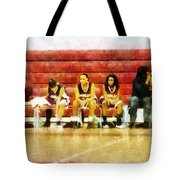 Life On The Bench Tote Bag