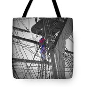 Life On The Ropes Tote Bag