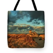 Life Saving Station Museum At Race Point Tote Bag