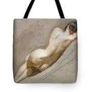 Life Study Of The Female Figure Tote Bag by William Edward Frost