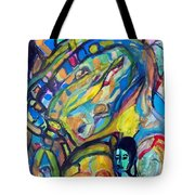 Life-the Whiz Bang Fun Machine Tote Bag