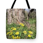 Life Under A Dead Tree Tote Bag