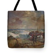 Lifeboat Launch Tote Bag