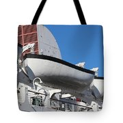 Lifeboat On Queen Mary Tote Bag
