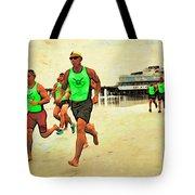 Lifeguard Runners Tote Bag