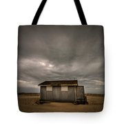 Lifeguard Shack Tote Bag by Evelina Kremsdorf
