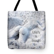 Life's A Beach By Sharon Cummings Tote Bag