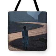 Life's S Curves Tote Bag