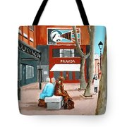 Liffey Street, Dublin Tote Bag