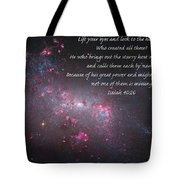 Lift Your Eyes Tote Bag
