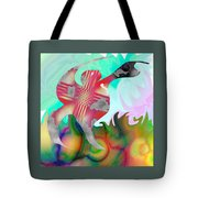 Lifting The Color Tote Bag