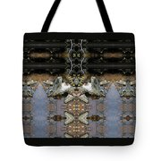 Lifting Up My Golden Eyes In Prayer Tote Bag