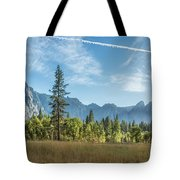 Light Across The Valley Tote Bag