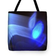 ''light And Blue Disc No.116'', Fri--18sep2015 Tote Bag