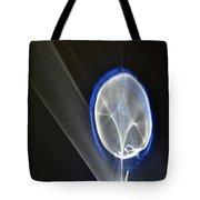 ''light And Blue Disc No.48'', Fri--23oct2015 Tote Bag
