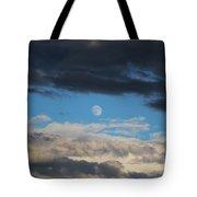 Light And Dark Moon  Tote Bag