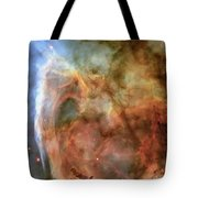 Light And Shadow In The Carina Nebula Tote Bag