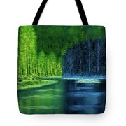 Light And Shadow Tote Bag