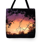 Light At The End Of The Storm  Tote Bag